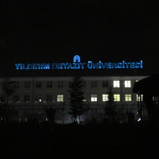 My school at night.