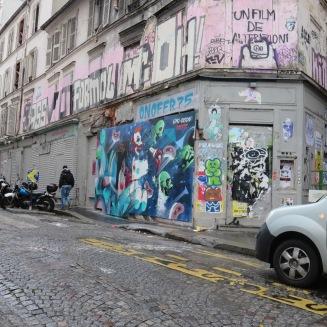 Graffiti in Montmartre