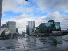 La Défense is so futuristic!
