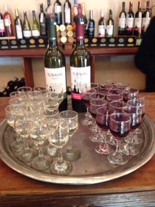 Cappadocian wine tasting