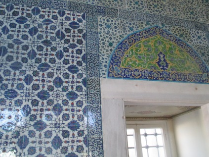In love with Ottoman tiles.