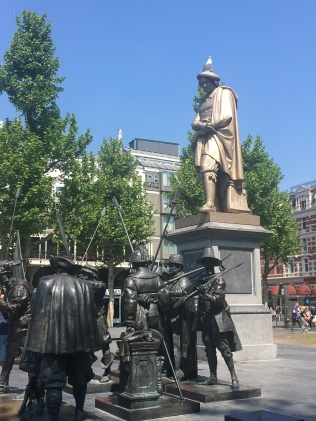 Rembrandt standing tall.