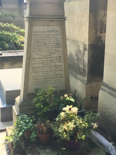 Charles Baudelaire's tomb