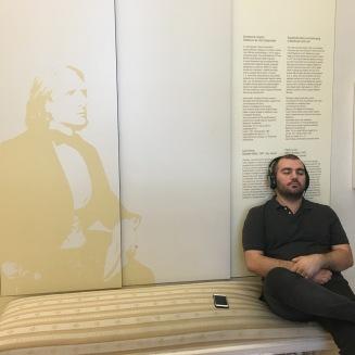 Relaxing to Franz Liszt