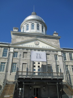 Bonsecours Market (used to be the main public market in Montreal)