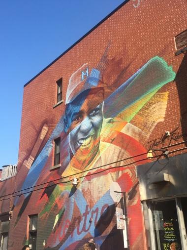 I loved all the street art!