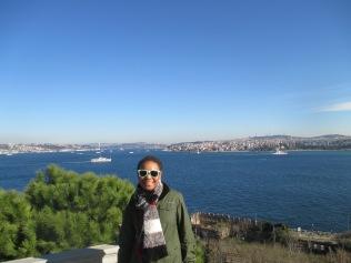 Overlooking the Bosporus in Istanbul