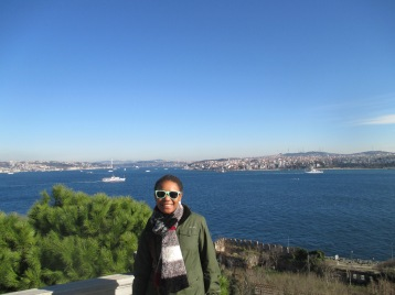 Overlooking the Bosporus in Istanbul
