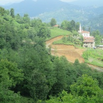 The green hills of Rize