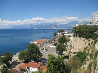 The harbor in Antalya