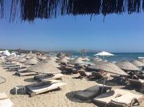 The beach at Çeşme