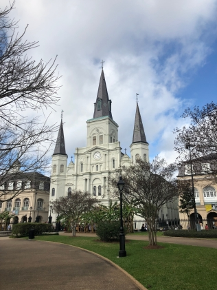 St. Louis Cathedral in Jackson Swaure