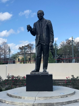 Famed jazz musician Louis Armstrong