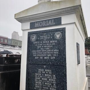 Dutch Morial's tomb