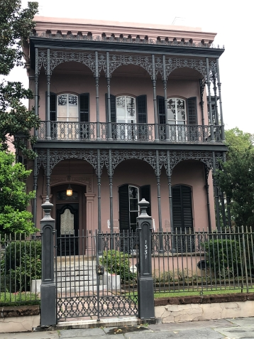The Morris Israel House, supposedly haunted