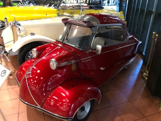 A 1960 German Messerschmitt